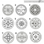 What Does The Mandala You Choose Say About You?