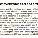 If You Can Read This Out Loud, You Have A Strong Mind. Can You?