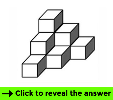 Cubes test - Brain teaser