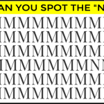 "Only 4% Of People Can Spot The ""N"" In This Eye Test. Can You?"